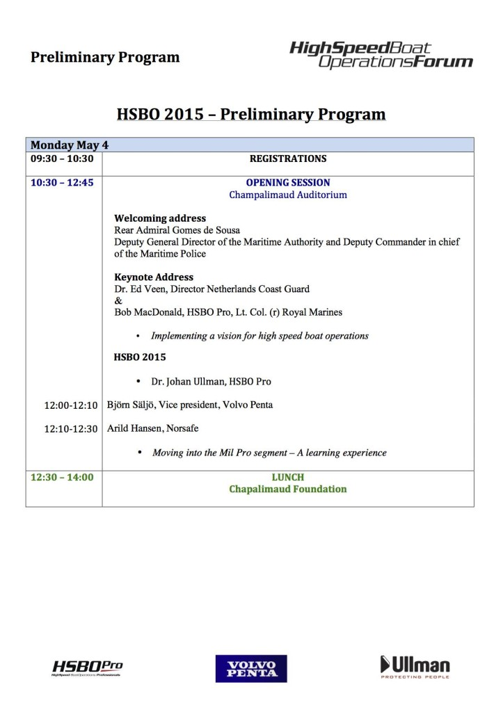 HSBO preliminary progam P 1