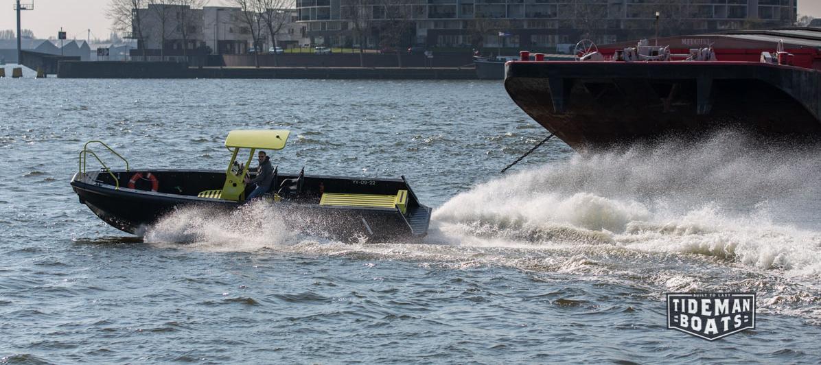 Tideman Boats RBB 800 WJ SUPPORT TENDER 2
